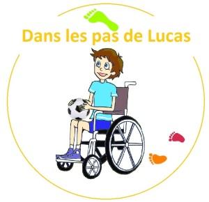 Logo Dans les pas de Lucas