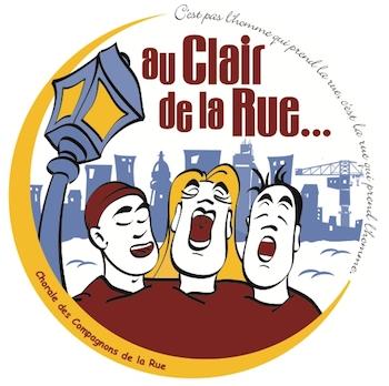 Logo Fédération des Chorales Au Clair de la Rue