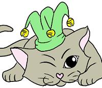 PETIT-chat-pitre-vert